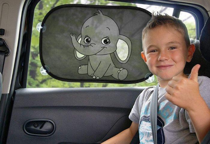 parasol para autos bebe